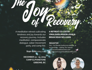 Joy of Recovery – a residential meditation retreat on the Sunshine Coast
